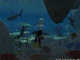 la grotte sous marine